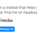 Freedaa – the bot that helps you find free food!