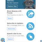 Qwazou – the Facebook Messenger Bot Store